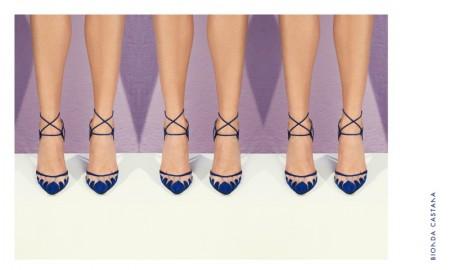 Bionda Castana 'Lana' Heel in Teal