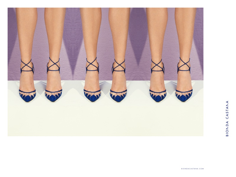Bionda Castana's Spring Ads Let You Focus on the Shoes