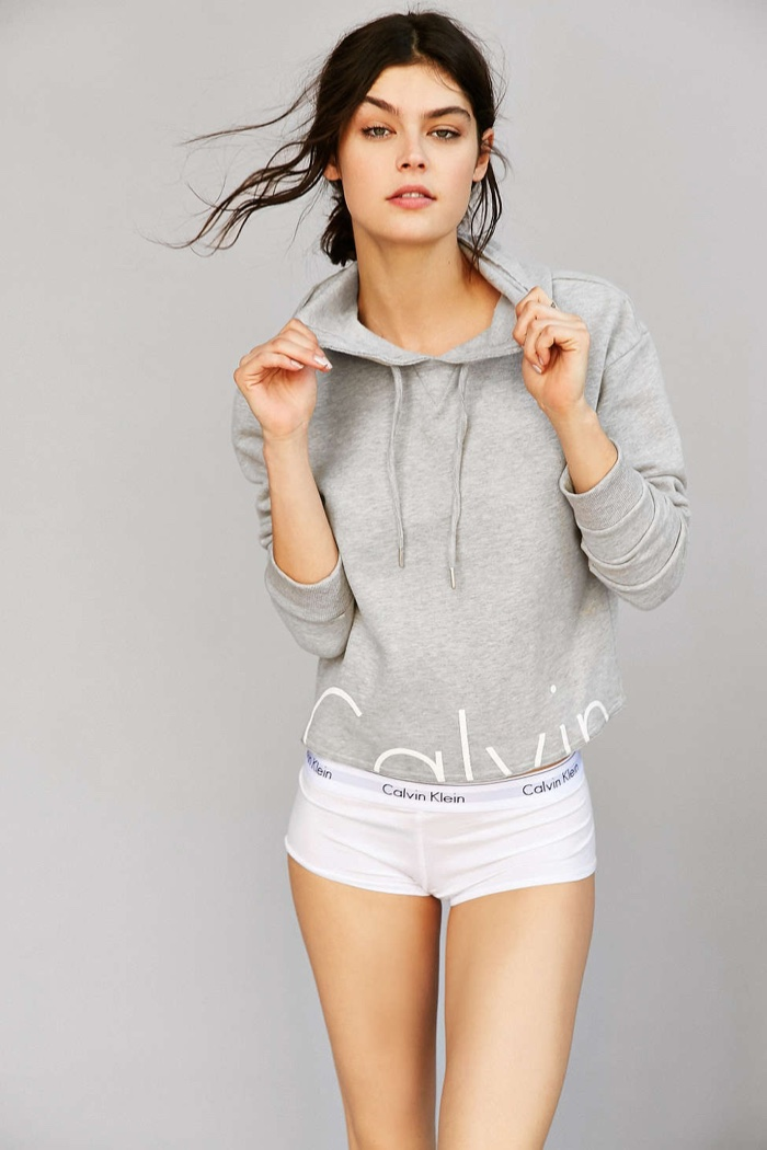34120f4a723 Calvin Klein x UO Cropped Hoodie Sweatshirt Calvin Klein x UO Cropped  Hoodie Sweatshirt · Calvin Klein x UO High Neck Tank Top