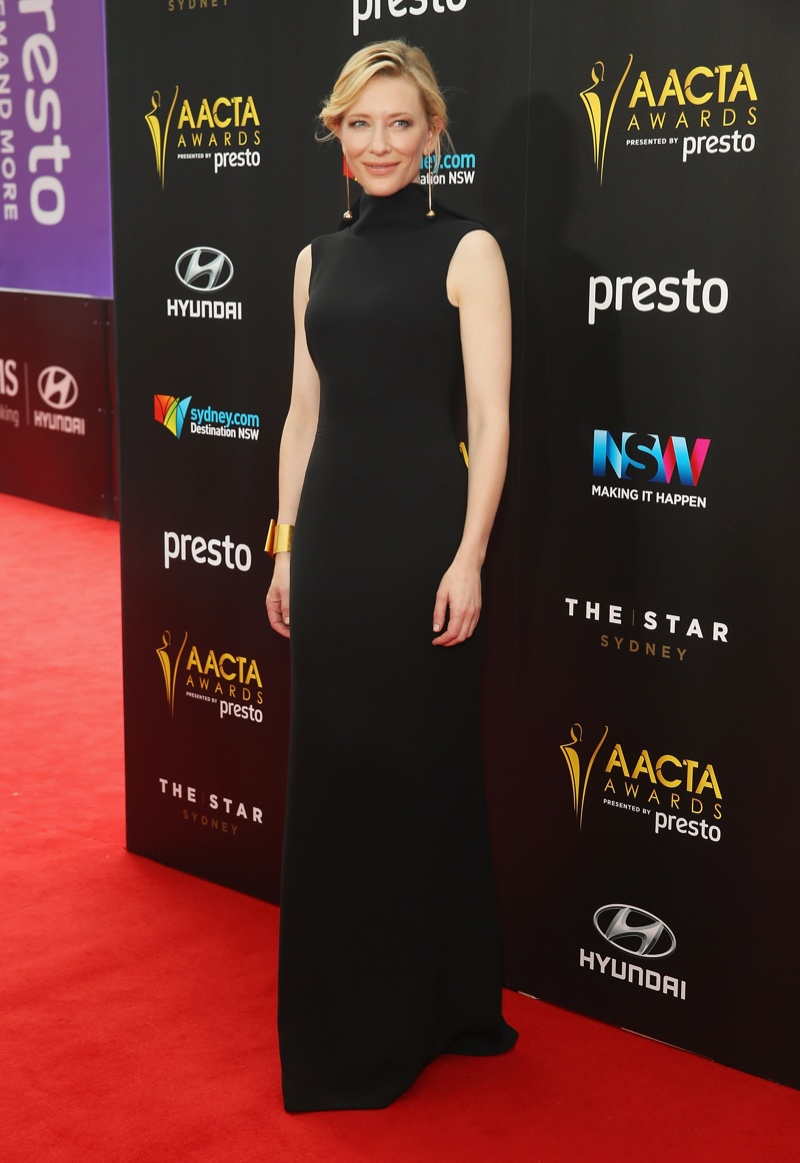 Cate Blanchett Proves Less is More in a Striking Black Gown