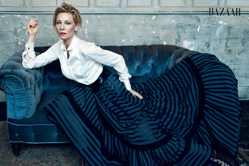 Cate Blanchett reveals to the magazine that she plans on taking a break from acting in 2016