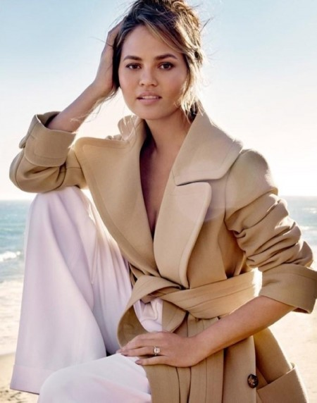 Chrissy Teigen Goes Beachside for Vogue Thailand Cover Story