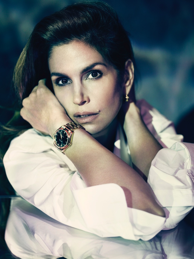 cindy crawford omega watches 2016 ad campaign