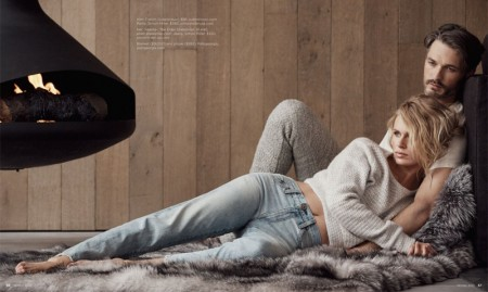 Luxury Magazine: Dean Isidro Shoots His & Hers Cold Weather Looks