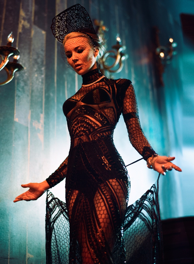Daphne Guinness Turns up the Glam for S Moda by Markus&Koala