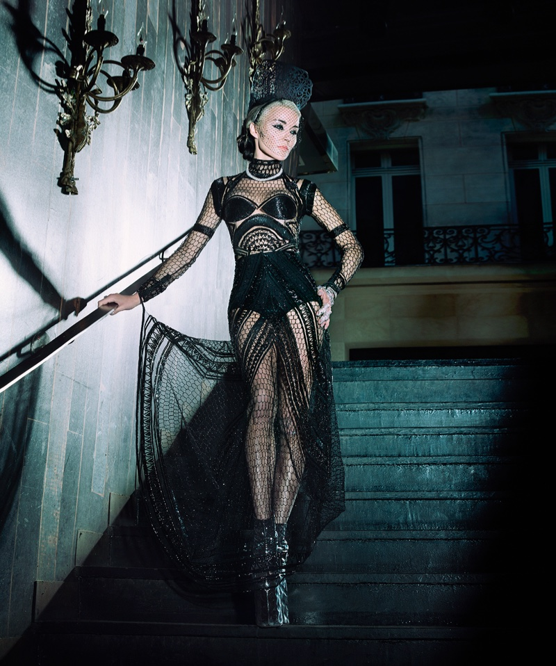 Daphne Guinness stars in S Moda's January issue
