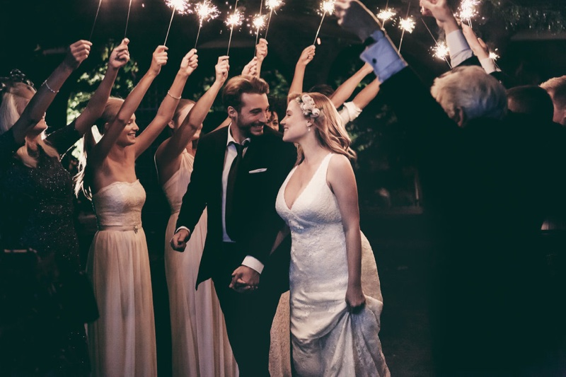 David's Bridal shot the campaign around London