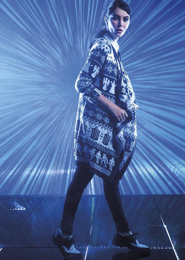 Doctor Who x Hot Topic Fair Isle Print Cardigan