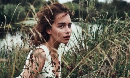 Emilia Clarke in Dior Magazine. Photo: Lachlan Bailey