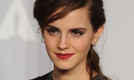 BEFORE: Emma Watson with longer hair. Photo: Jaguar PS / Shutterstock.com