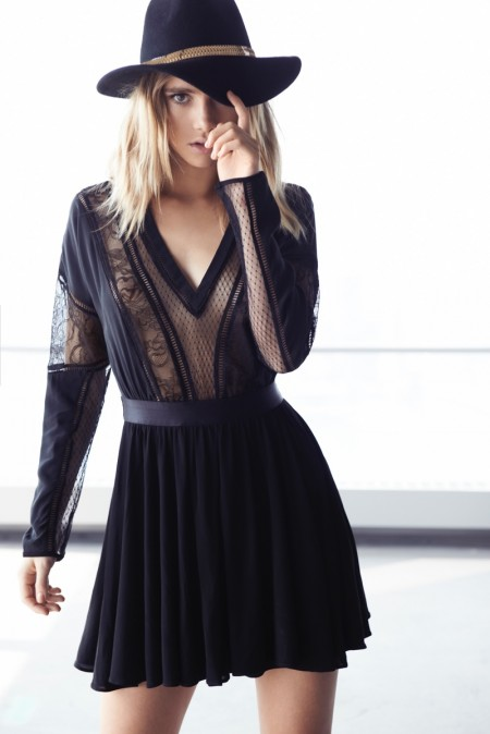 Suki Waterhouse, Magdalena Frackowiak Are Party Ready in Express' Edition Collection