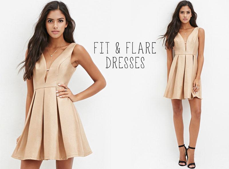 Fit & Flare Party Dresses Shop