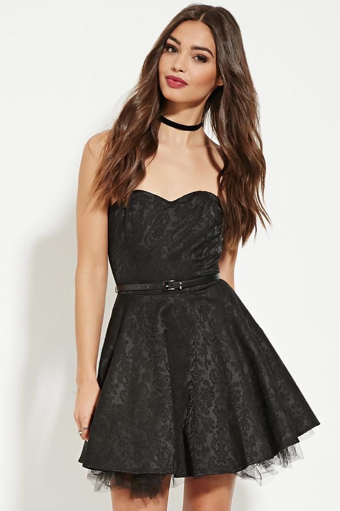 Forever 21 black cocktail dresses