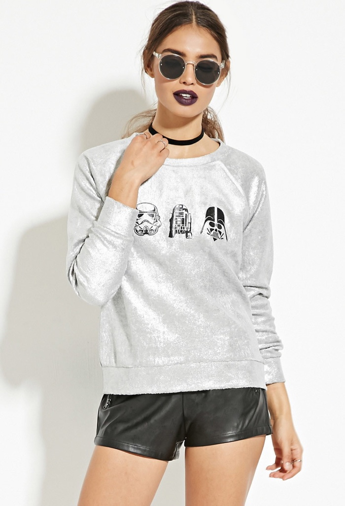 Forever 21 x Star Wars Graphic Metallic T-Shirt