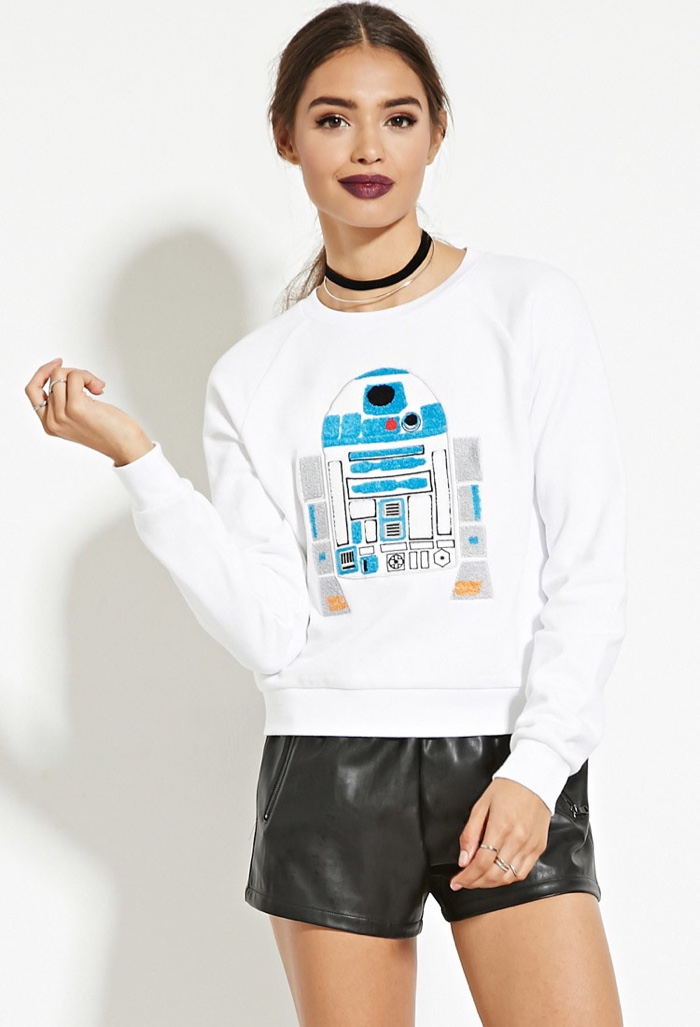 Forever 21 x Star Wars R2-D2 Graphic Pullover Shirt