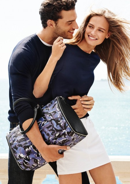 Furla Gets Romantic with Spring 2016 Campaign