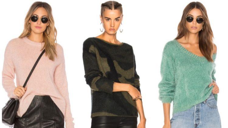 Fuzzy Sweaters for Women