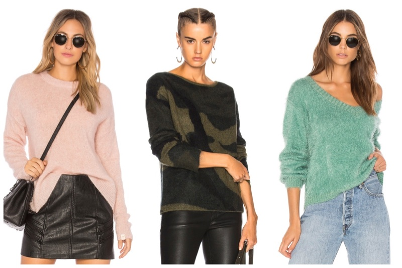 Fuzzy Sweaters for Women