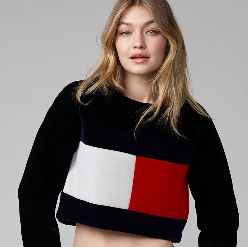Gigi Hadid has been announced as Tommy Hilfiger's new brand ambassador