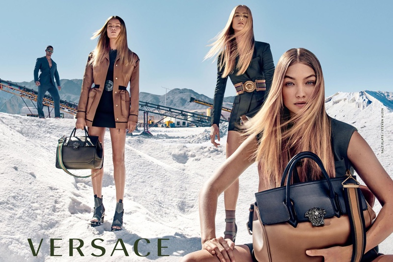 Gigi Hadid stars in Versace's spring-summer 2016 campaign