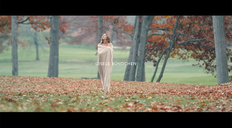Gisele Bundchen stars in new film for Chanel where she talks about nature