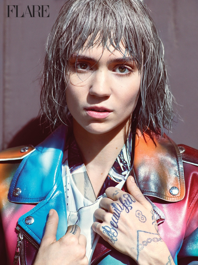 Grimes-Flare-Magazine-Winter-2015-Cover-Photoshoot03