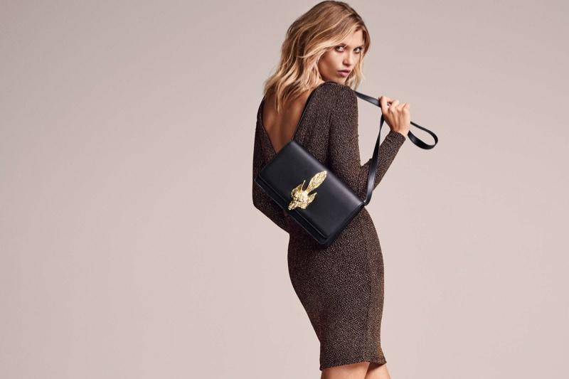 H&M Glittery Dress & Shoulder Bag