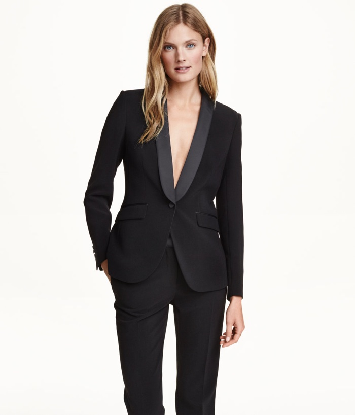 Tuxedo jacket for ladies