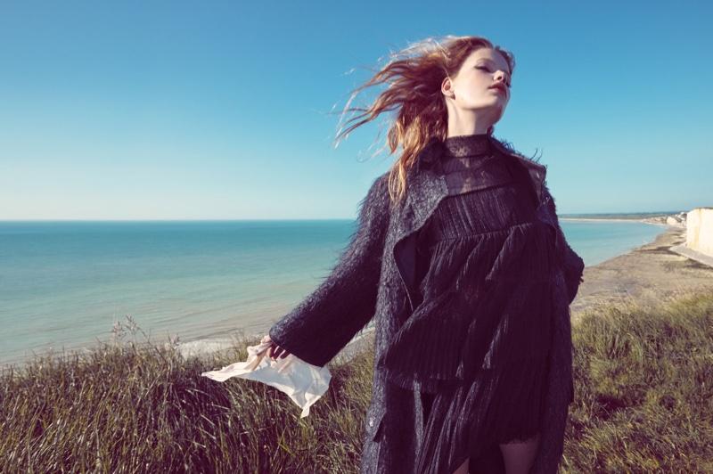 Never Let Me Go - Hollie May Saker For Vogue China December 2015