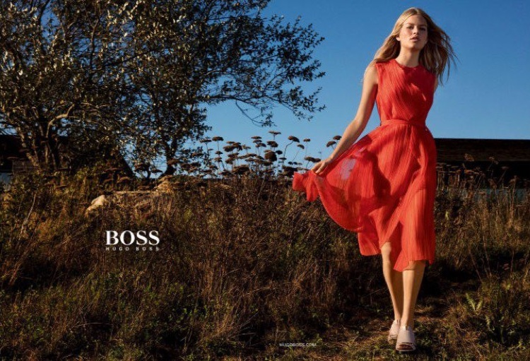 Anna Ewers Goes Natural For Hugo Boss Spring 2016 Campaign
