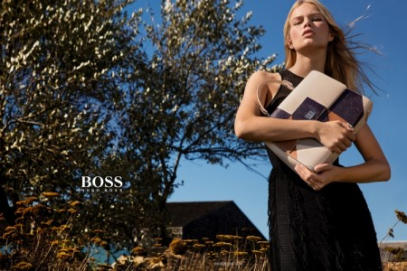 Anna Ewers Goes Natural for Hugo Boss' Spring 2016 Campaign