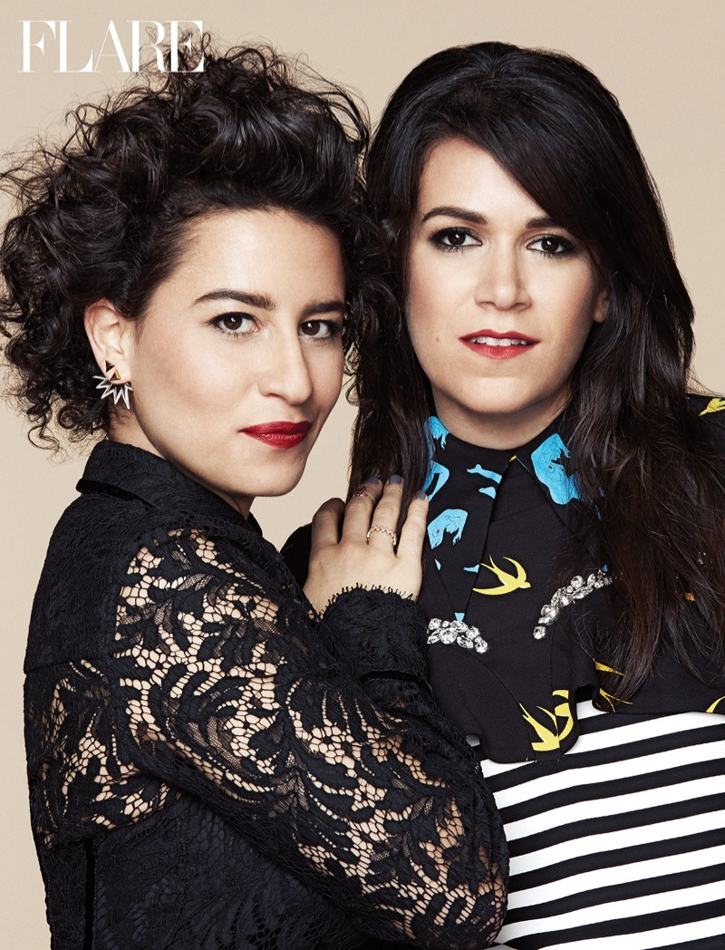 Ilana and Abbi talk about season 3 of Broad City