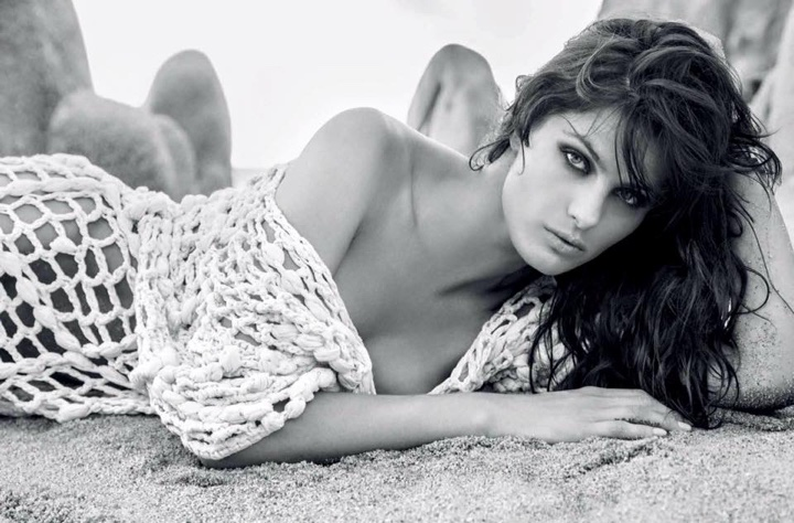 Isabeli Fontana is a Beach Bombshell for Marie Claire Brazil