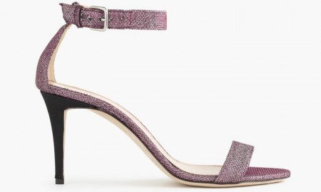 J. Crew Glitter Strappy High Heel Sandals