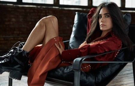 Jennifer Connelly Poses in Louis Vuitton for Grazia by David Roemer