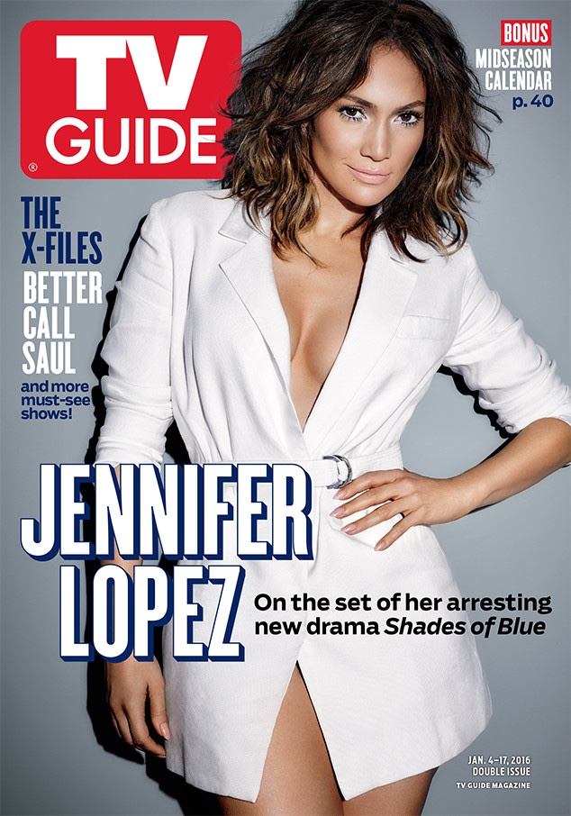 Jennifer Lopez Poses In TV Guide, Talks Shades Of Blue Role