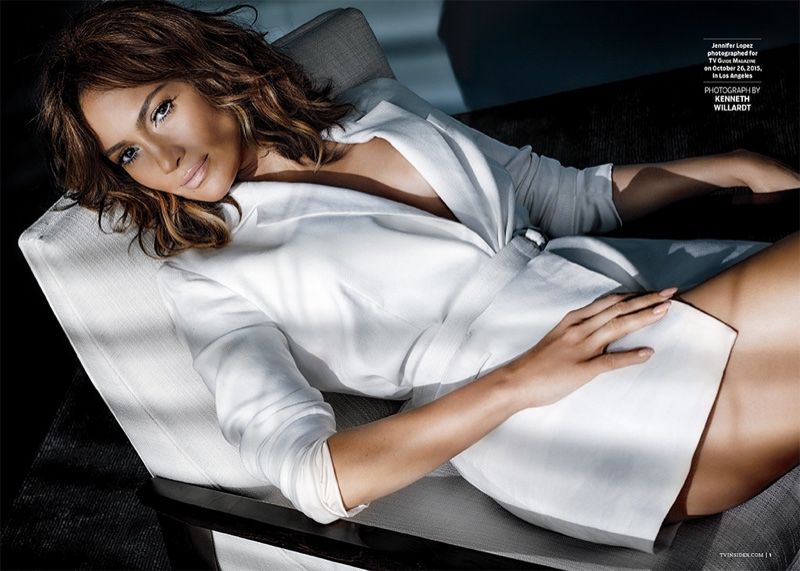 Jennifer Lopez Poses in TV Guide, Talks 'Shades of Blue' Role