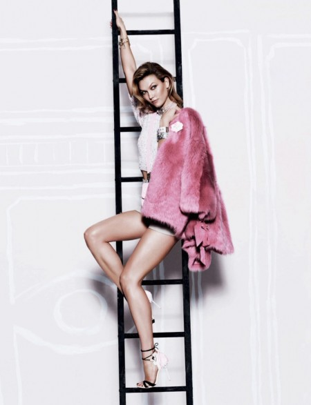 Karlie Kloss Flaunts Her Legs in Vogue Mexico Feature