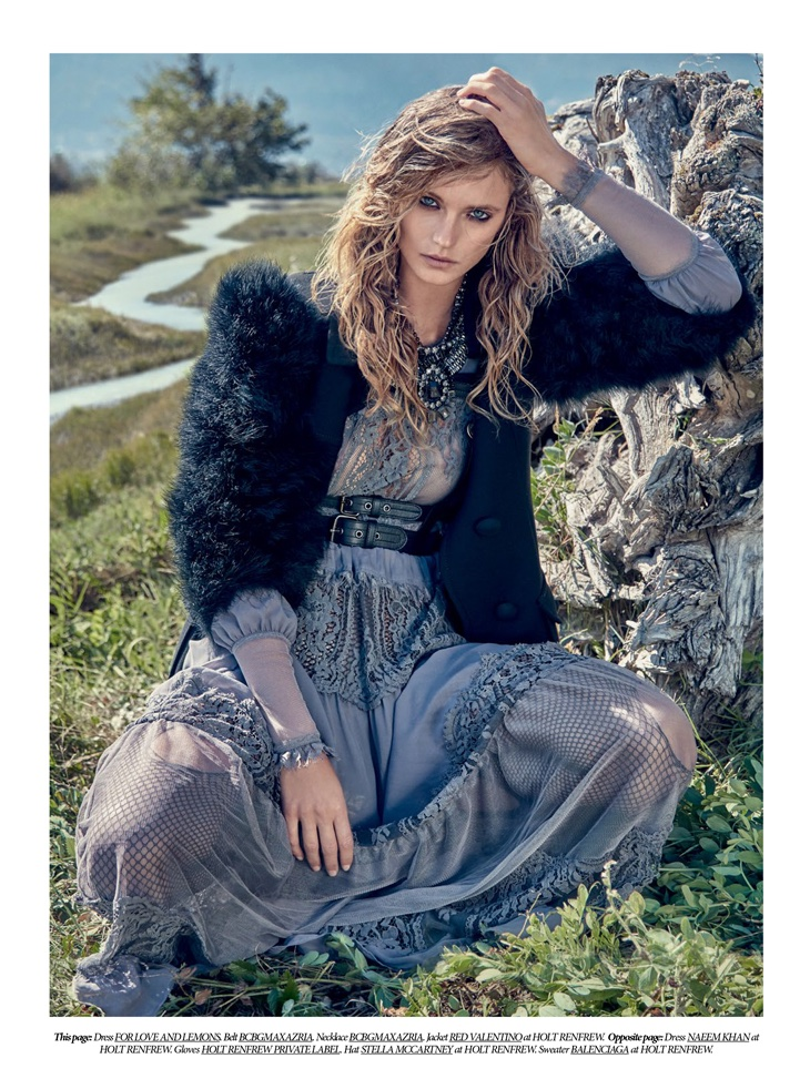 Magazine Stand Designs : Kate bock embraces romantic winter looks in dress to kill