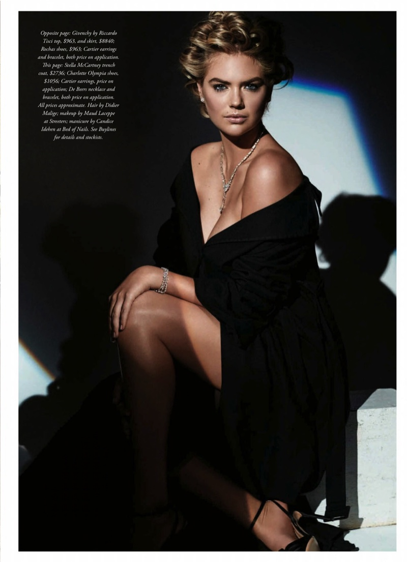Kate Upton in Her Most Elegant Spread Yet for BAZAAR Australia