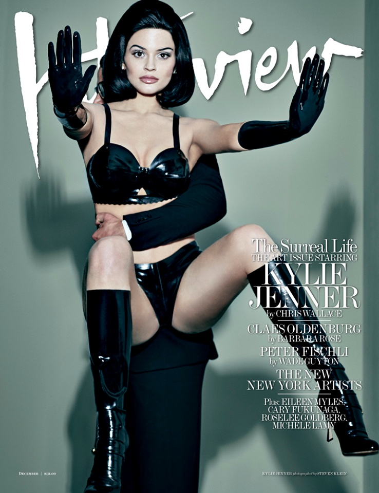 Kylie Jenner on Interview Magazine December 2015 cover