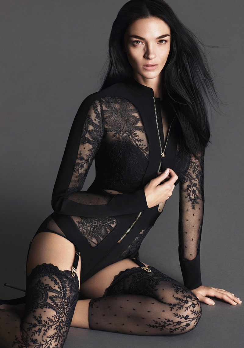 See Even More Images of La Perla's Sultry Spring 2016 Campaign