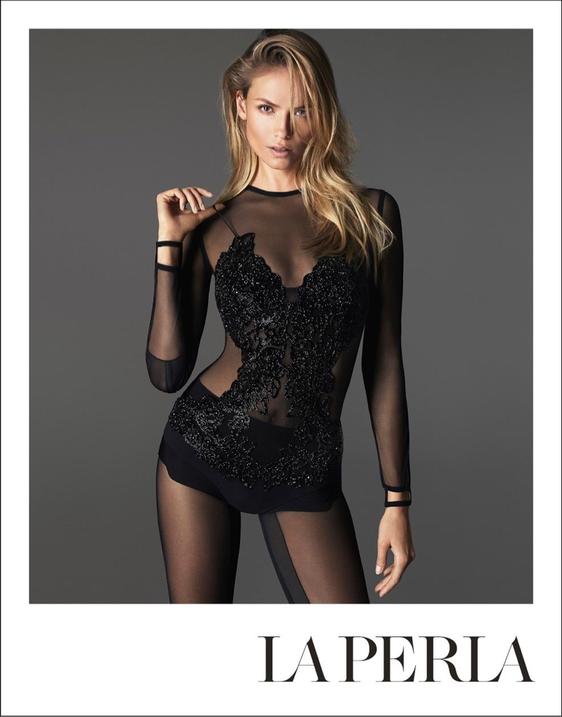 La Perla Taps a Trio of Top Models for its Spring '16 Campaign