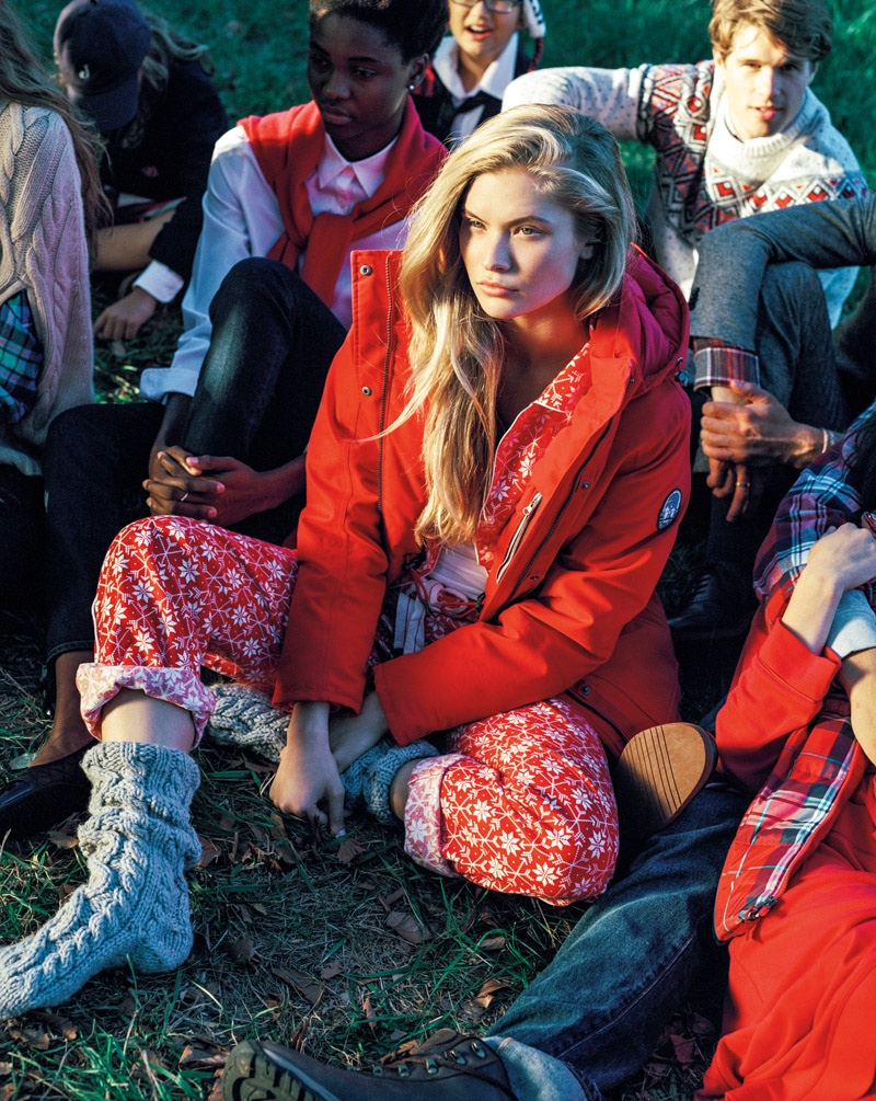 Land's End tapped Bruce Weber to shoot the new campaign