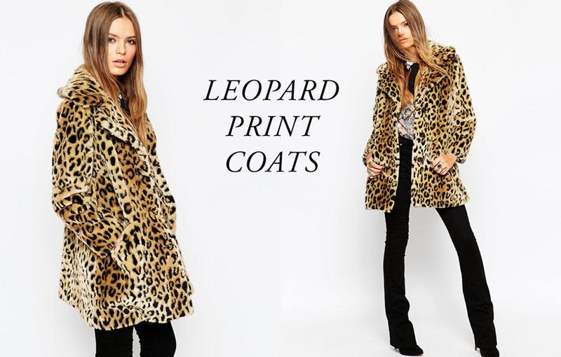 Walk the Wild Side: 7 Leopard Print Coats