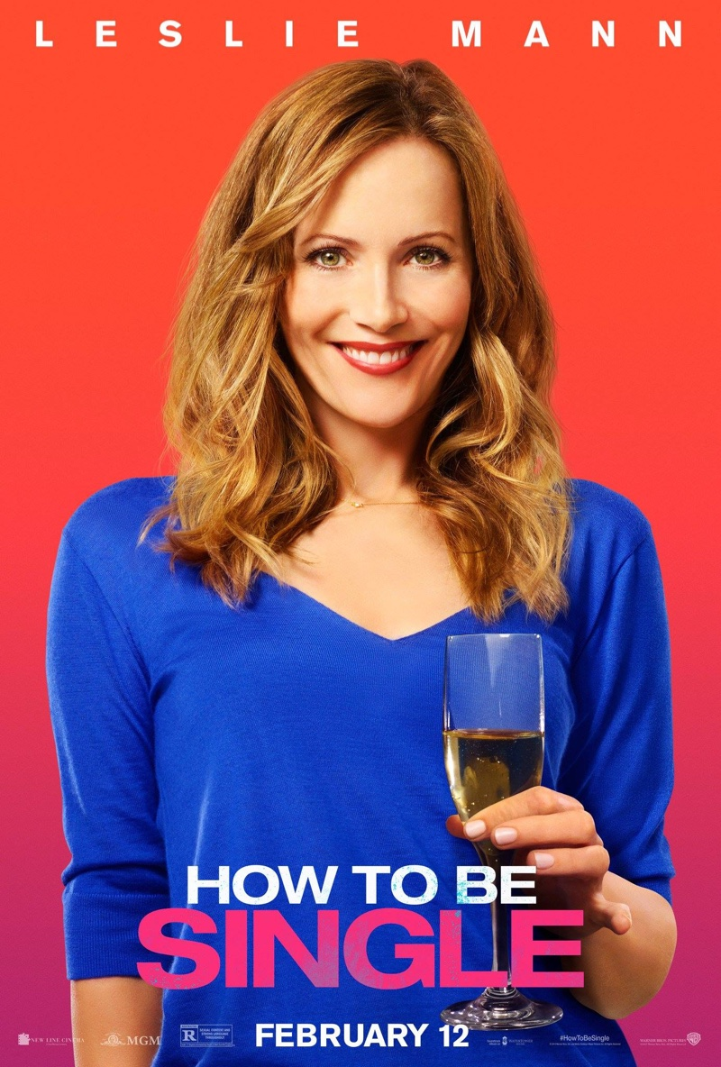 Leslie Mann on How to Be Single poster