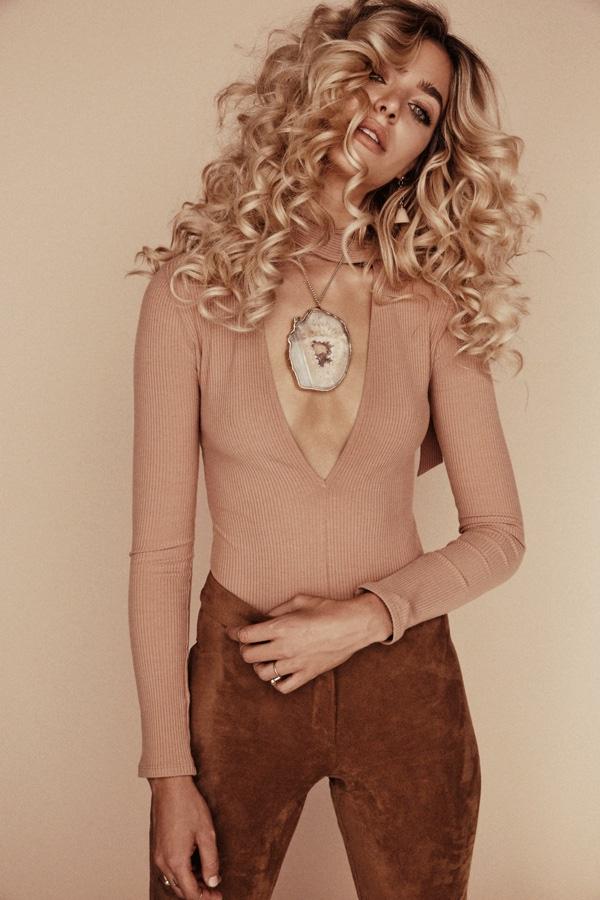 70s Glam Jewelry - Gina Vaia For Lili Claspe Winter 2015
