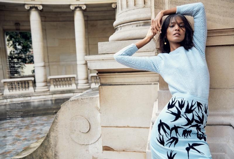 Liya-Kebede-Madame-Air-France-December-2015-Cover-Editorial07