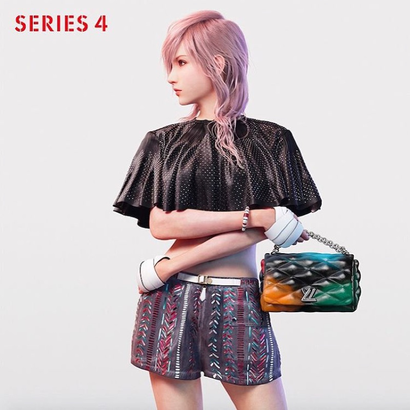 Louis Vuitton features Final Fantasy character Lightning in spring 2016 campaign