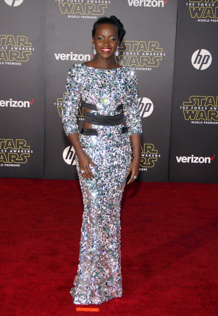 Lupita Nyong'o sparkles in Alexandre Vauthier Couture gown. Photo: Tinseltown / Shutterstock.com